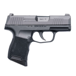 Sig Sauer P365 9mm Luger 3.1in Nitron Micro Compact Semi Automatic Pistol - 10+1 Rounds