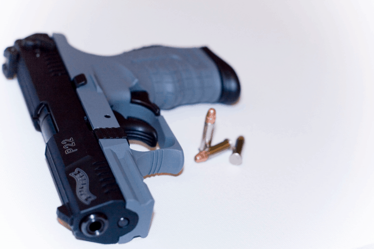 Walther P22 grey