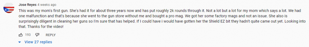 2nd YouTube Review
